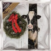 Age UK Pack of 8 Cow in Barn Charity Christmas Cards